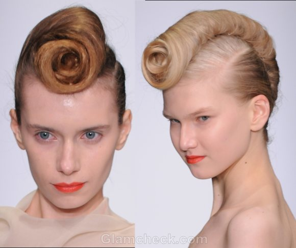 Hairstyle trends s-s 2012 buns futuristic updos-3