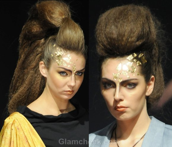 Hairstyle trends s-s 2012 futuristic updos