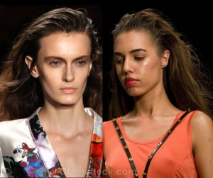 Hairstyle Trends S/S 2012 : Curly, Straight & Messy hair