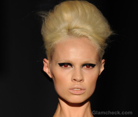 Hairstyle trends s-s 2012 puffed buns