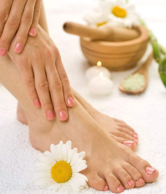 Homemade foot scrub