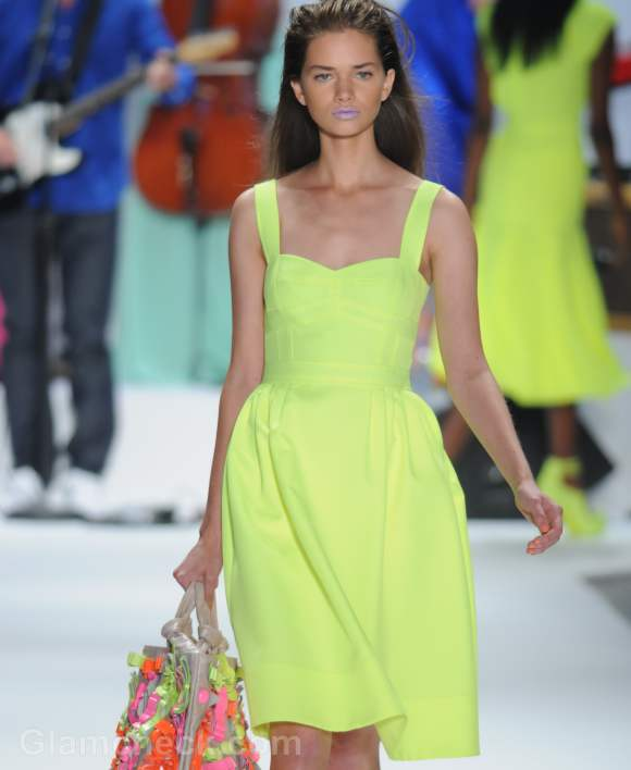 Nanette Lepore neon s-s 2012 collection