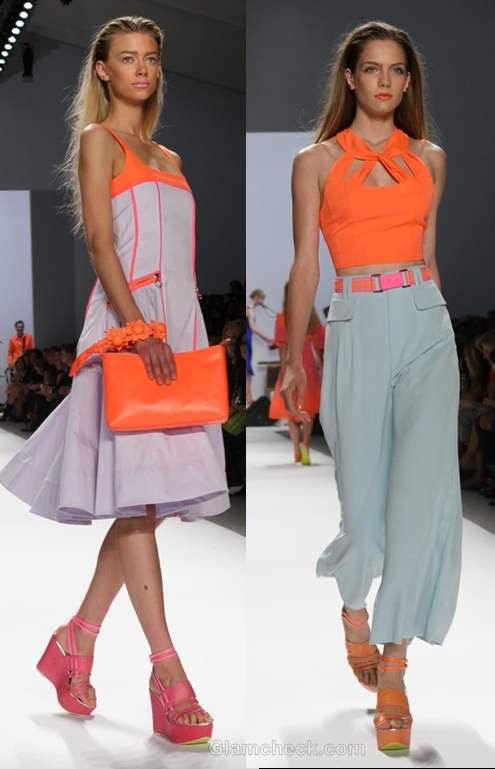 Nanette Lepore s-s 2012 neon collection-2