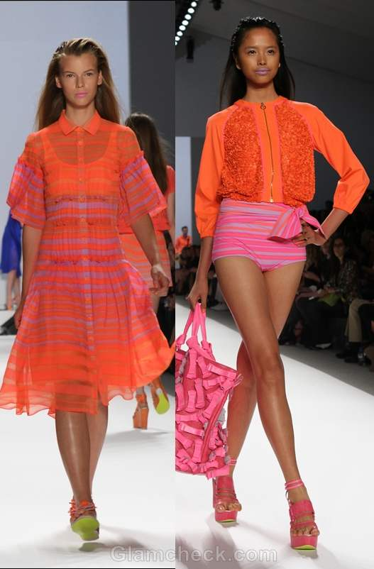 Nanette Lepore s-s 2012 neon collection-4