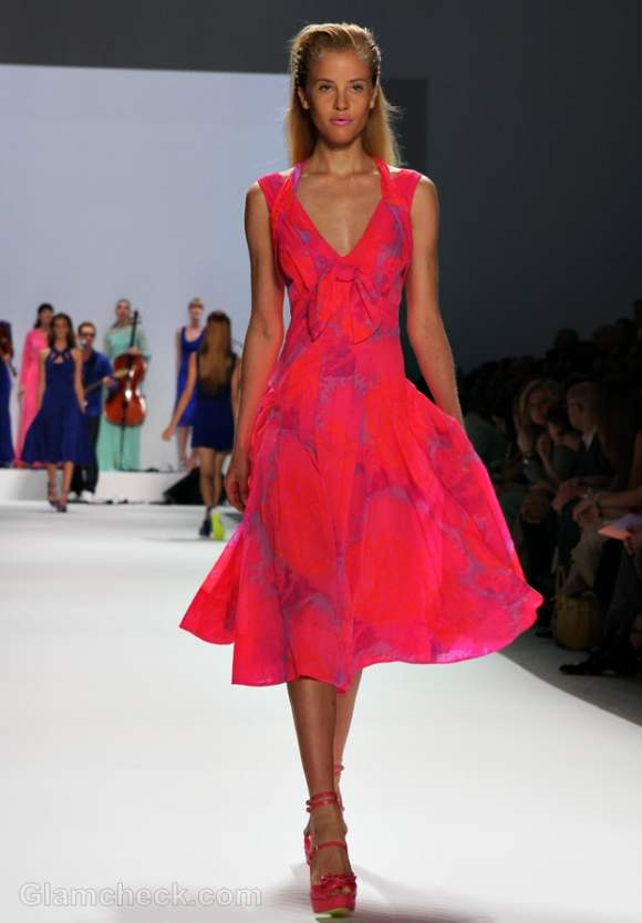 Nanette Lepore s-s 2012 neon collection-5