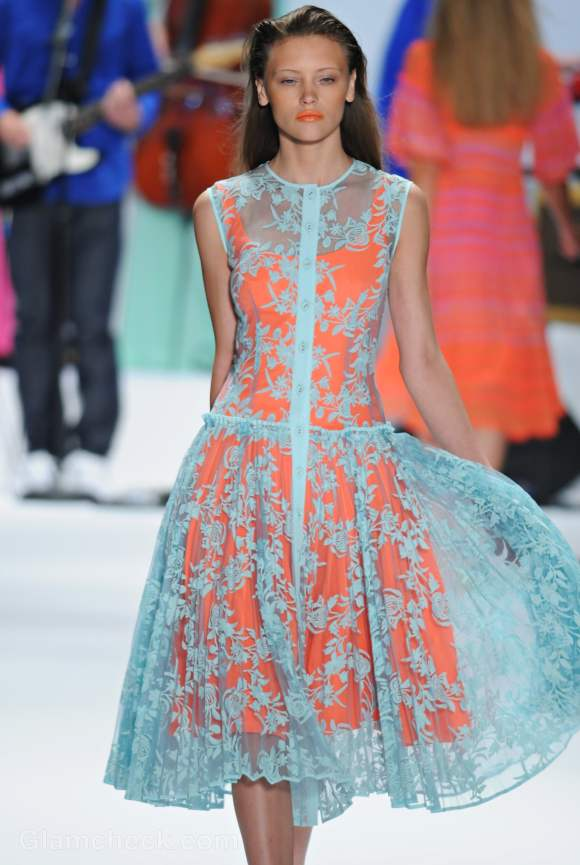 Nanette Lepore s-s 2012 neon collection-7