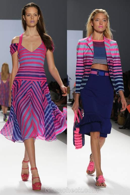 Nanette Lepore s-s 2012 neon collection