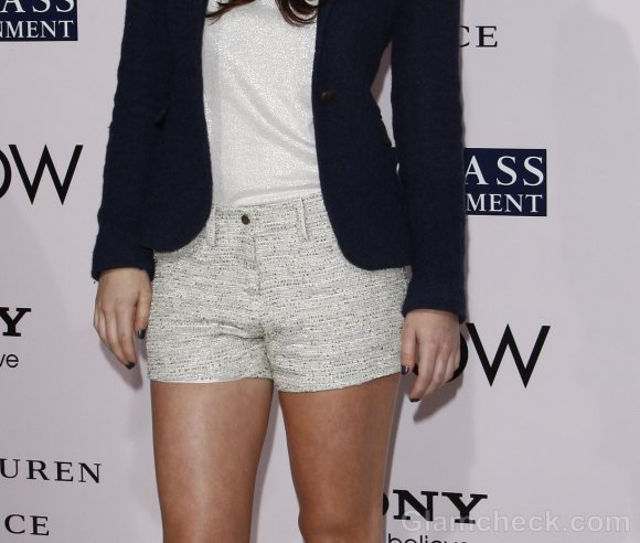 Nathalia Ramos pairs shorts with blazer
