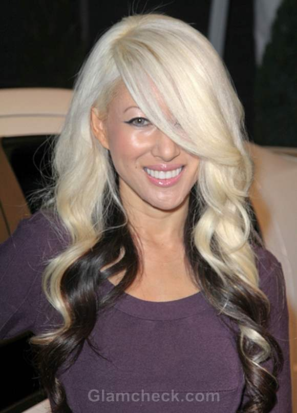 Phu Styles Two-toned Hair in Curls
