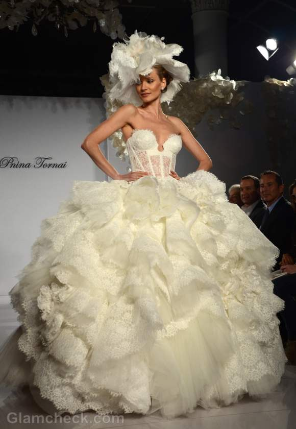 Prina tornai bridal collection for s-s 2012