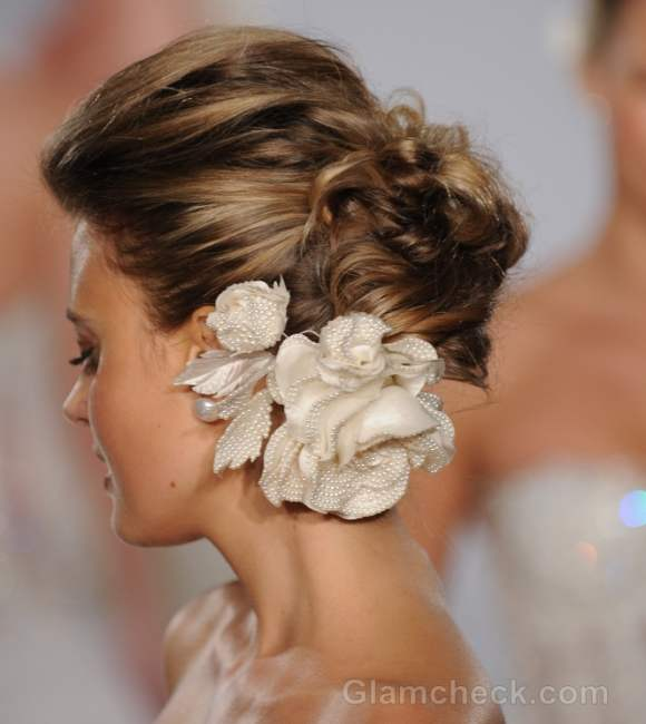 Prina tornai bridal collection s-s 2012-flower hair accessory