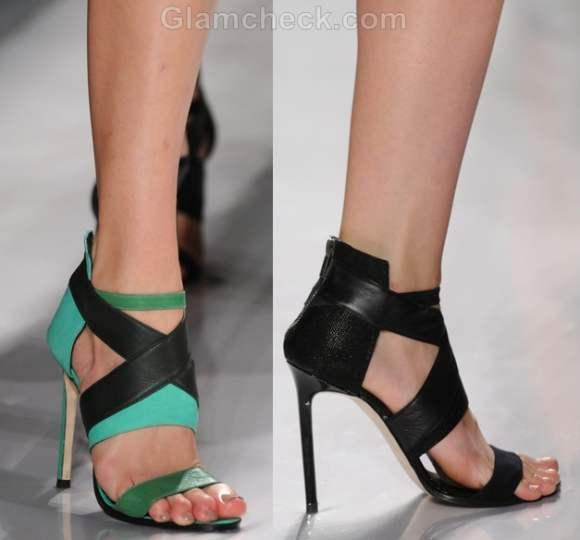 Style pick J-Mendel bandage heels s-s 2012