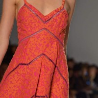 Style pick of the day Tangerine orange Maxi DressTimo Weiland Spring 2012