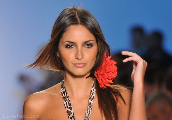 Style pick of the day floral hair clips aguaclara s-s 2012