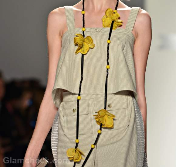 Style pick of the day subversive floral bead necklace for Timo Weiland