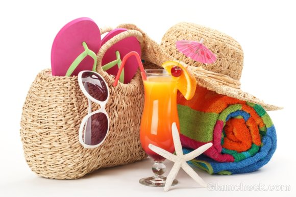 Things to pack for the beach-beach bag