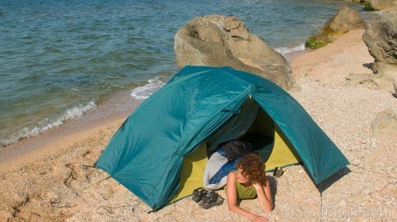Things to pack for the beach-tents