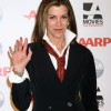 Wendie Malick sports classy androgynous look at awards show