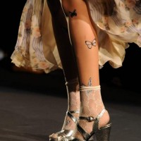 butterfly tattoos Style pick of the day anna sui s-s 2012