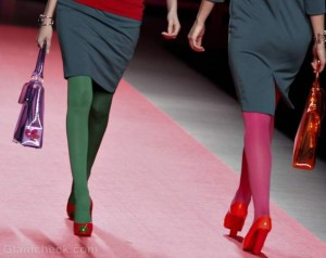 Style Pick of The Day : Eclectic Colored Tights