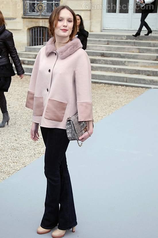 Ana Girardot Oozes Elegance at Paris Fashion Week