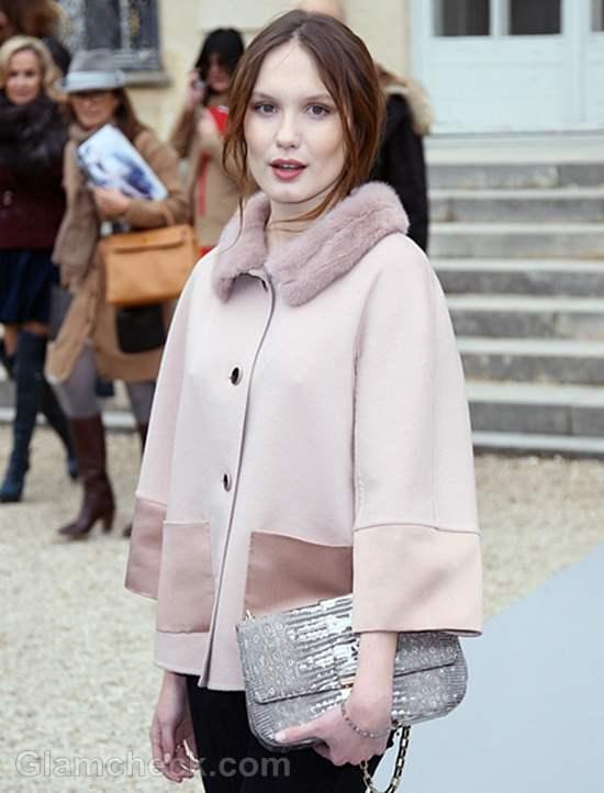 Ana Girardot at Paris Fashion Week