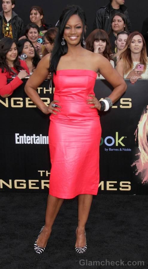 Garcelle Beauvais pink dress