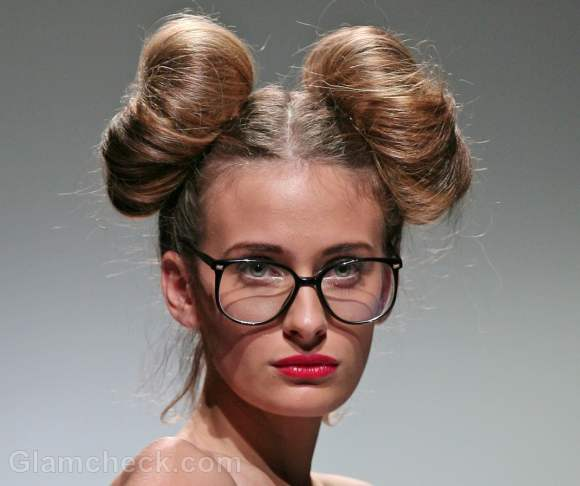 Hairstyle How To Donut Side Buns