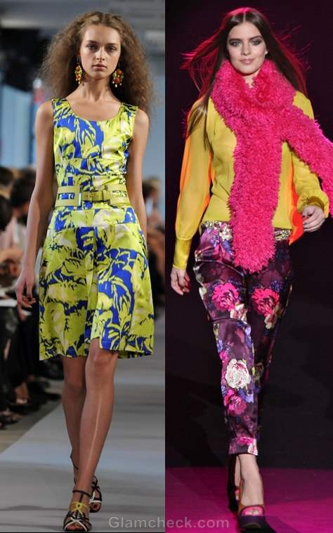 How to wear neon prints