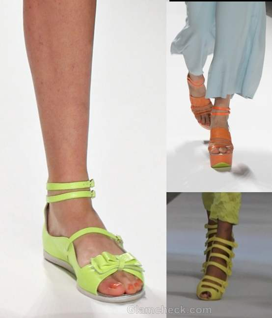 How to wear neon shoes