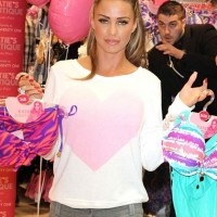 Katie Price Promotes New Swimwear Range for Katies Boutique