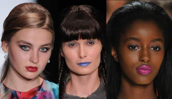 Makeup trends s-s 2012 bright lips