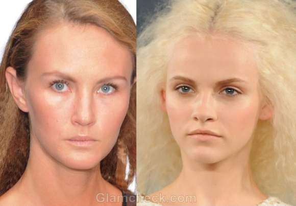 Makeup trends s-s 2012 nude makeup