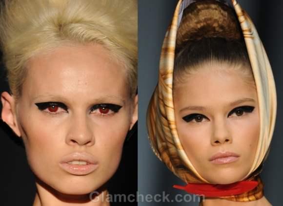 Makeup trends s-s 2012 smokey eyes natural tones