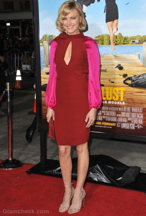 Malin Akerman- Color Blocking Gone Wrong-faux-pas