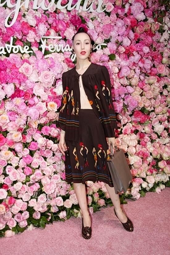 Michelle Harper Salvatore Ferragamo Signorina Perfume Launch Party