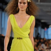 Style pick fluorescent maxi dress