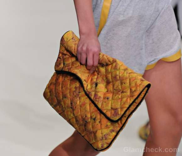 Style pick of the day-quilted envelope clutch bag
