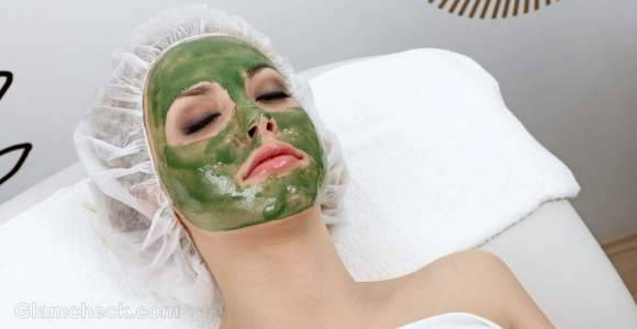 Summer skin care beauty mask