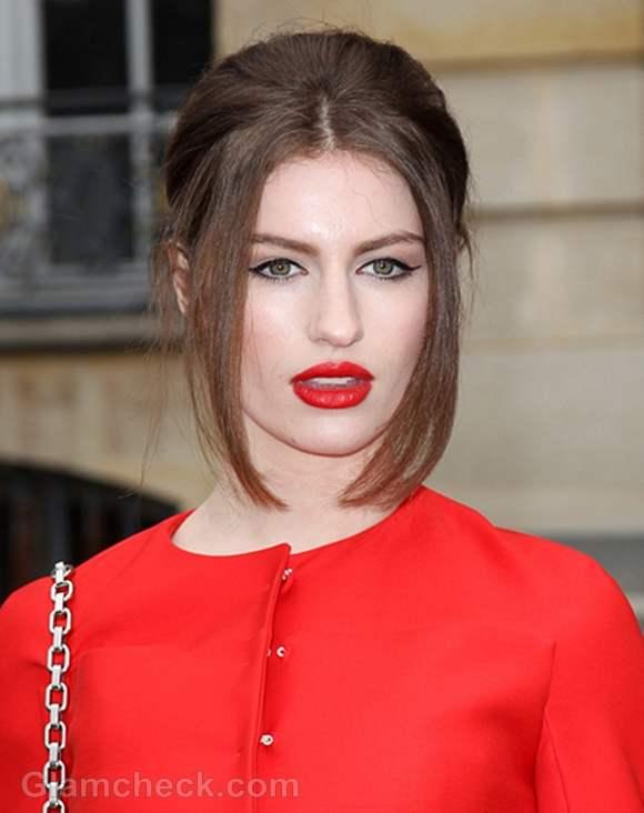 Tali Lennox Hair Makeup at Paris Fashion Week