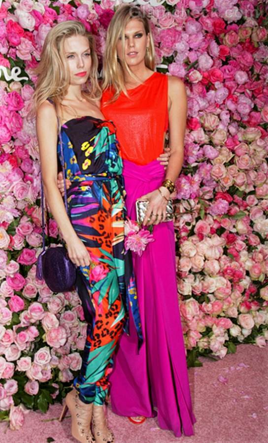 Theodora Richards and Alexandra Richards Salvatore Ferragamo Signorina Perfume Launch Party