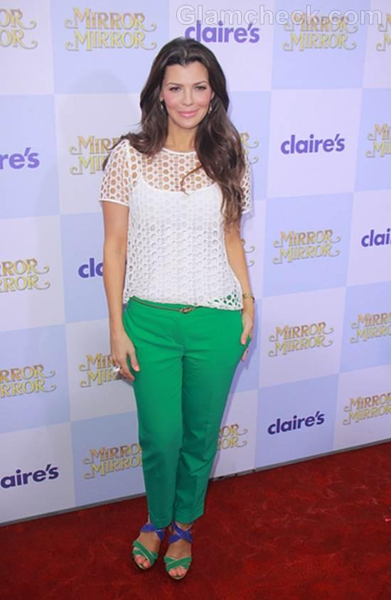 Trend of the Week green pants Ali Landry