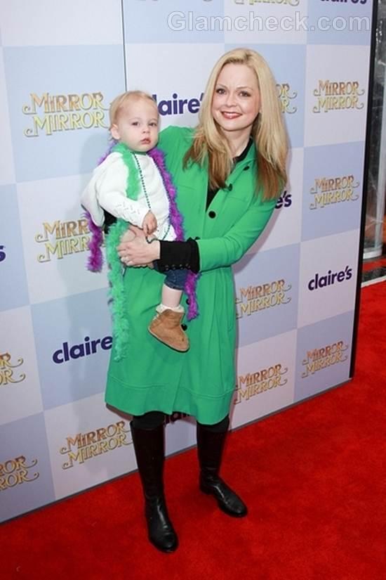 Trend of the week green coat Marisa Coughlan