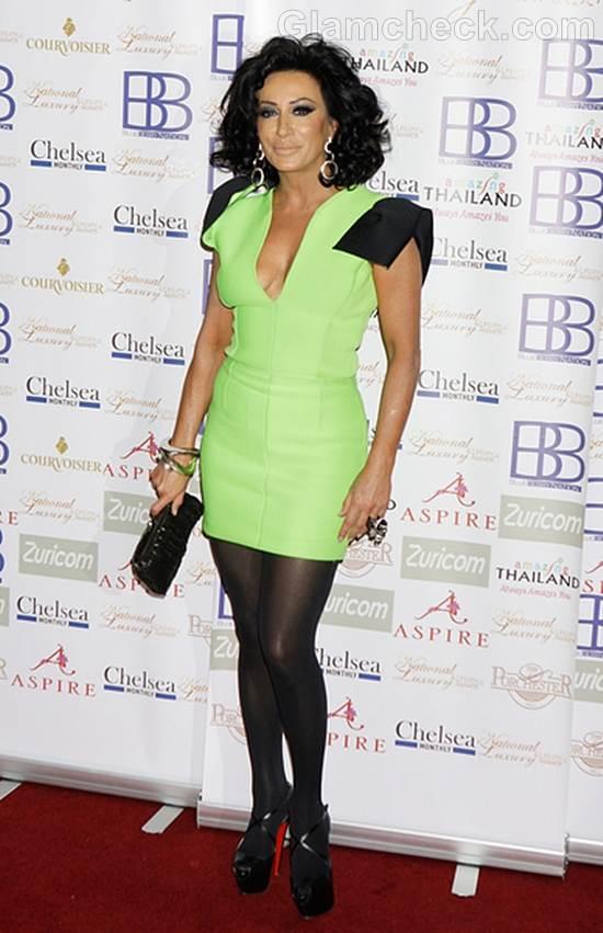 Trend of the week  green dress Nancy DellOlio