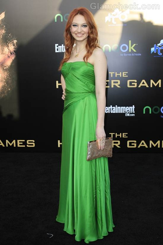 Trend of the week green gown Jacqueline Emerson