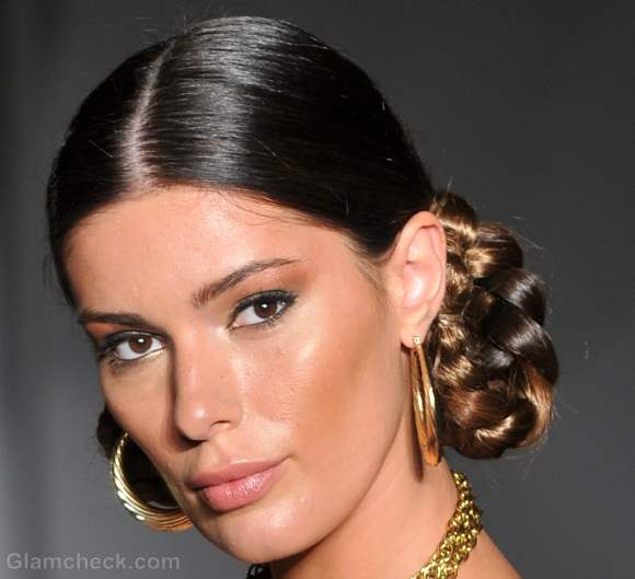 looped side braids hairstyle how to