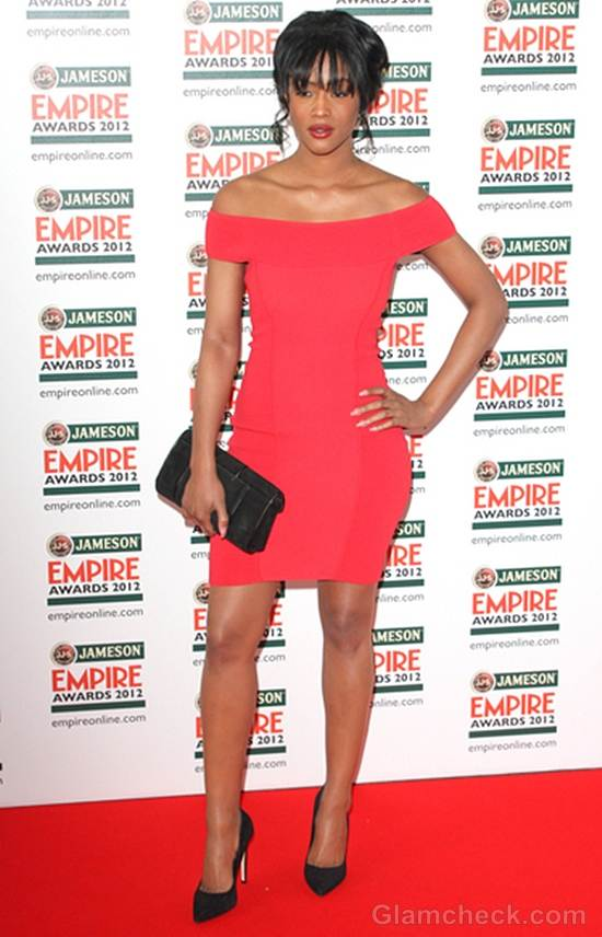 red dress Tiana Benjamin