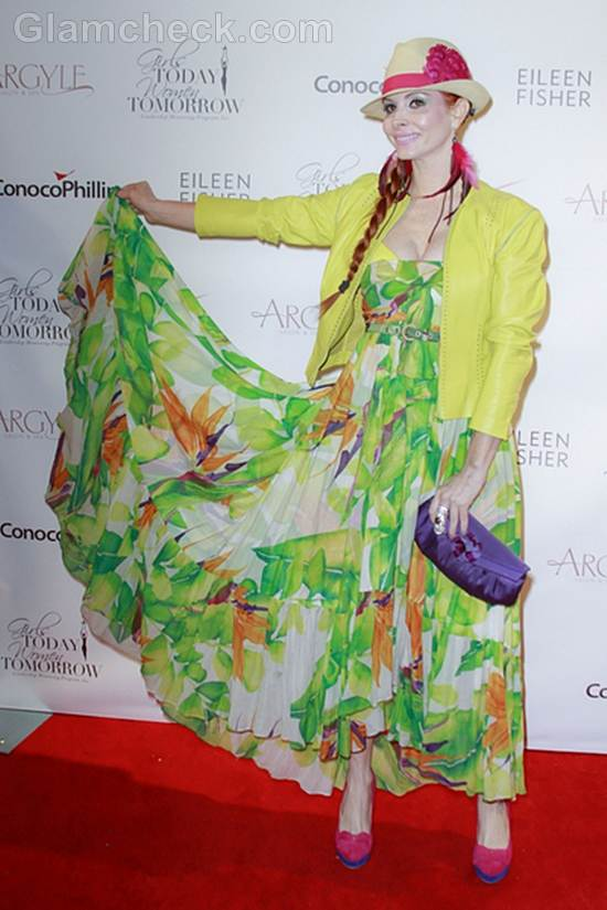 trend of the week green maxi dress Phoebe Price