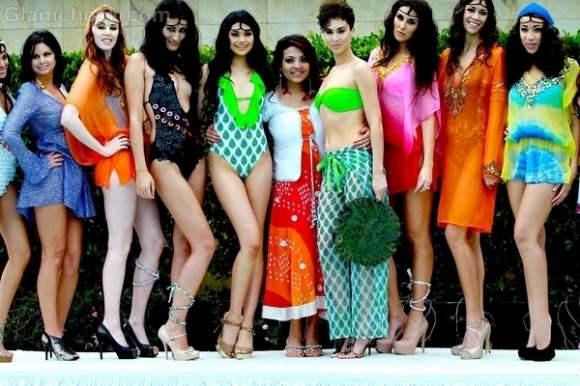 Ambika Sanjana 2012 swimwear range