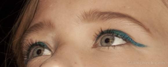 Beauty how to neon winged eyeliner